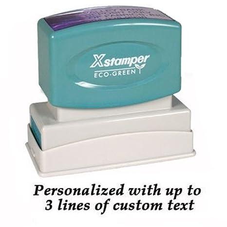 amazon com xstamper custom rubber stamp n14 business stamps