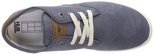 Hub Chucker C06 - Zapatos de cordones derby Hombre Azul - Blau (navy/wht 004)