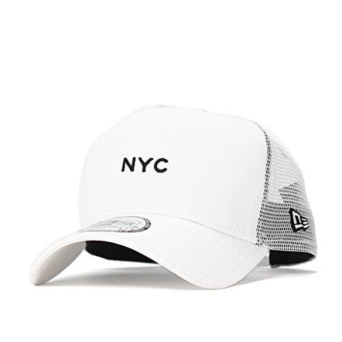(ニューエラ) NEW ERA メッシュキャップ 9FORTY MINI LOGO NYC ホワイト FREE (サイズ調整可能)
