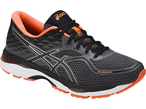 ASICS Mens Gel-Cumulus 19 Running Shoe Carbon/Black/Hot Orange 6.5 Medium US by ASICS (Image #7)