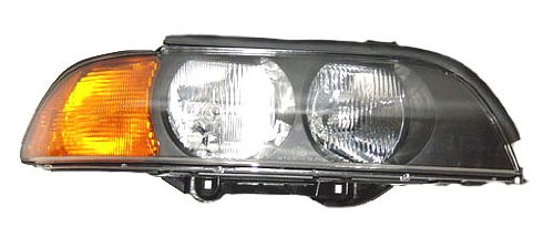 OE Replacement BMW 528//540 Passenger Side Headlight Assembly Composite Unknown Partslink Number BM2503118
