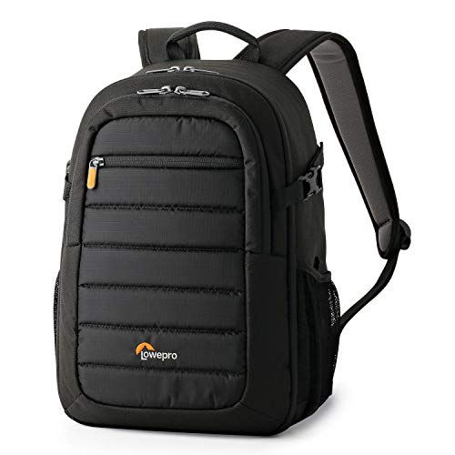 LowePro Tahoe BP 150. Lightweight Compact Camera Backpack for Cameras and DJI Spark Drone (Black). (Best Way To Carry Dslr While Traveling)