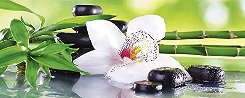 Wellness bilder grün  Amazon.de: Artland Echt-Glas-Wandbild Deco Glass Africa Studio Spa ...