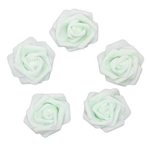 green rose heads - 5