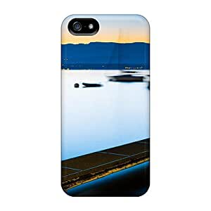New Style Cynthaskey Boats In Long Exposure Premium Tpu Cover Case For Iphone 5/5s
