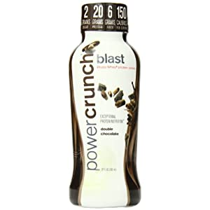 Bioengineered Nutrition Research Group Power Crunch Ready to Drink, Double Chocolate, 12 0z. 12 Count