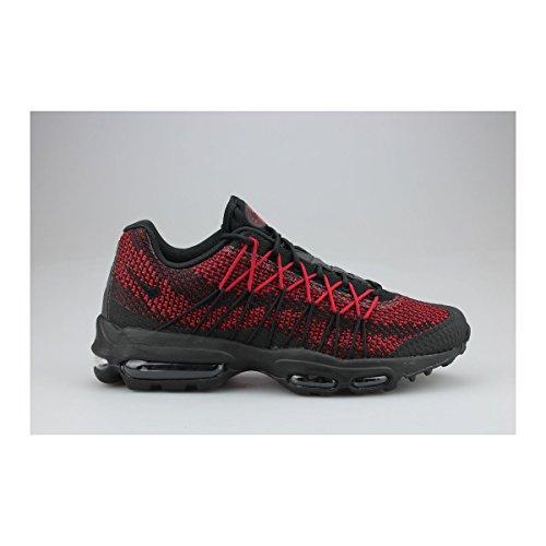 acheter populaire bab4f 6b9b9 Nike Air Max 95 Ultra Jacquard Noir Rouge best ...
