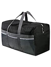Lightweight Water Resistant Tear Resistant FANTAZIO Animal Skin Pattern Sports Bag Packable Travel Duffle Bag