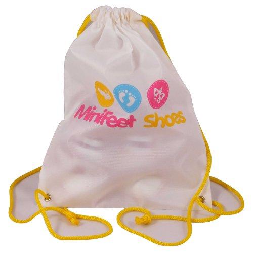 MiniFeet Chaussures bébé enfant en bas âge chaussures de toile chaussures, élégant motif vert, 0-6, 6-12, 12-18 et 18-24 mois