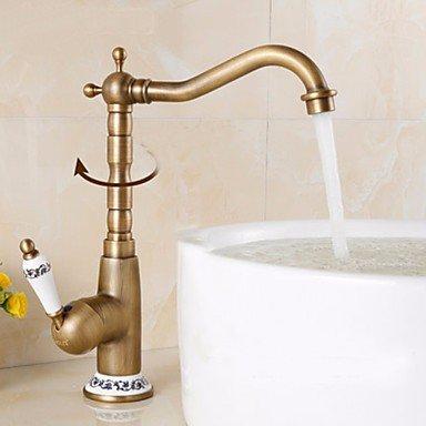 Kitchen Faucet - Antique Antique Brass Bar