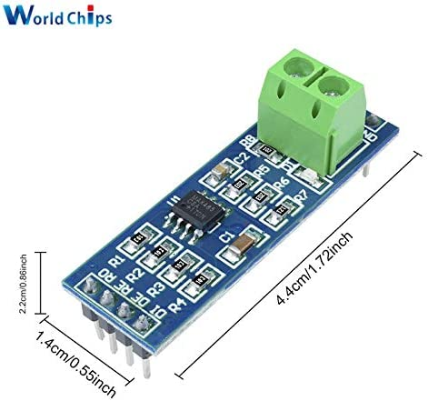 5PCS MAX485 Module RS-485 TTL Turn To RS485 MAX485CSA Converter Module For Arduino Microcontroller MCU Development Accessories Ponis-Limos