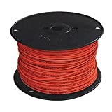 Building Wire, THHN, 12 AWG, Red, 500ft
