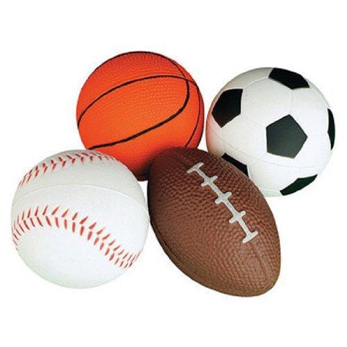 Relaxable Balls (Foam Sports Balls, 1 dz)