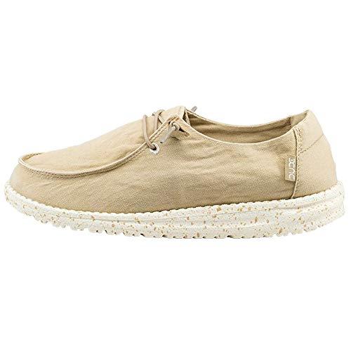 Hey Dude Women's Wendy Loafer Shoes-Beige-7