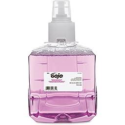 GOJO 1912-02 GOJ191202CT Antibacterial Foam Hand Wash, Refill, Plum, 1200 mL Refill, 2 per Carton, Purple (Pack of 2)