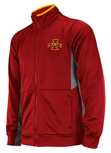 (Outerstuff NCAA Men's First String Full Zip Jacket, Iowa State Cyclones Large)