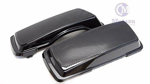 Dual 6x9 Speaker Lids For Harley Touring Saddlebag Road King Street Glide 94-13