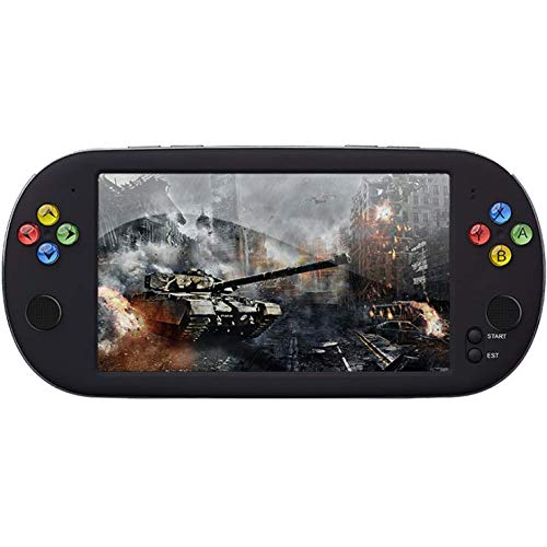 Smart-US Handheld Game Consoles Double Rocker 16GB 7 Inch high Definition Screen 1500 Classic Game, Support Video & Music Playing megapixel Camera Birthday and New Year's Best Gift for Kids