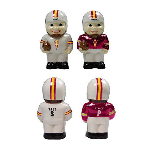 - The Memory Company NCAA Arizona State University Official Player Salt & Pepper Shakers, Multicolor, One Size