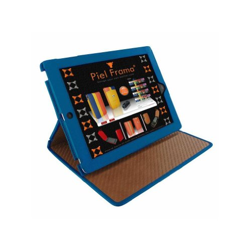 Piel Frama Cinema Leather Standing Case for the iPad 2 & 3 (Blue) by Piel Frama