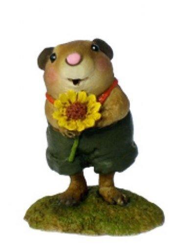 Wee Forest Folk FB-1 Woodchuck Flower (Flower Chucks)
