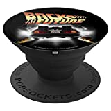 Back To The Future Vintage Delorean Peel Out - PopSockets Grip and Stand for Phones and Tablets