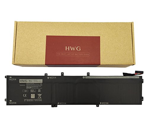 HWG 4GVGH Battery (6-Cells) for Dell Precision 5510, XPS 15 9550 Series, Compatible P/N 4GVGH 1P6KD (11.1V 84Wh) (Series 5510 Laptop)