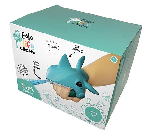 Eolo Life Collection 63114 giocattolo – Aqua Creature squir Terz Shark