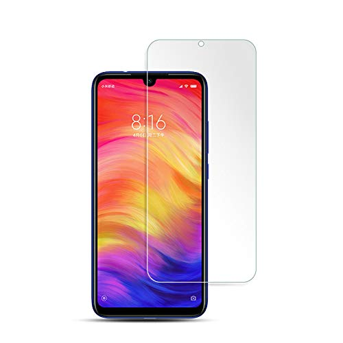 Sun Van [2 Pack] Tempered Glass Screen Protector for Xiaomi Redmi Note 7, Ultra Thin 9H Hardness Easy to Install Anti-Scratch Guard Protection Bubble Free Premium Glass Film for Redmi ()
