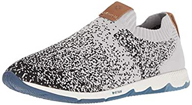 Hush Puppies Women's Cesky Knit Slipon Sneaker, Cool Grey Knit, 06.0 W US