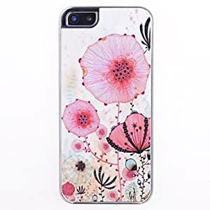 HP DFFlowers Pattern Skin Grains Back Case for iPhone 5/5S