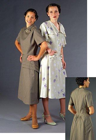 (Patterns - Folkwear #249 1930's Day Dress )