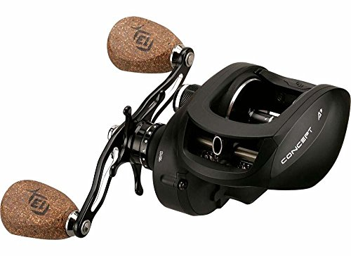 13 Fishing Concept A3 8.1:Gear Ratio Fishing Reels, Size 300, Left Hand, Black