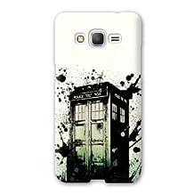 Case Samsung Galaxy Grand Prime Doctor Who - - tardis white -
