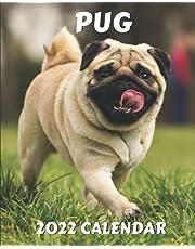 Pug Calendar 2022: Gift Idea for Pugs Lovers