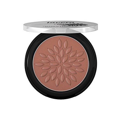 lavera So Fresh Mineral Rouge Powder Puder ∙ Farbe Cashmere Brown braun ∙ sanfter schimmer & seidig zart ∙ Natural & innovative Make up ✔ vegan ✔ Bio Pflanzenwirkstoffe ✔ Naturkosmetik ✔ Teint Kosmetik 1er Pack (1 x 5 g)