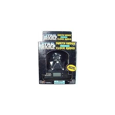 Star Wars Darth Vader AM/FM Clock Radio by MGA: Toys & Games