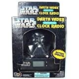 Star Wars Darth Vader AM/FM Clock Radio by MGA
