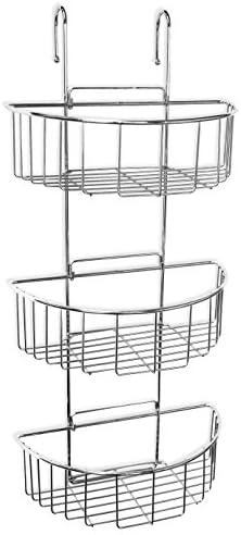 Tatay 4437400 Cestillo Ovalado con 3 Alturas, Metal, Cromado, 27.50x15.00x60.00 cm: Amazon.es: Hogar