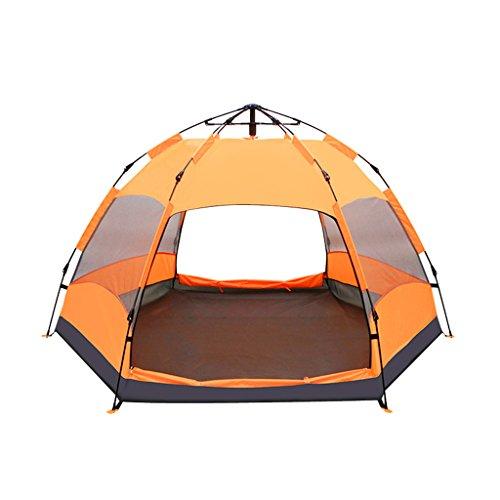苗前中テント、自動ヘキサゴン厚い防雨フィールド屋外キャンプ