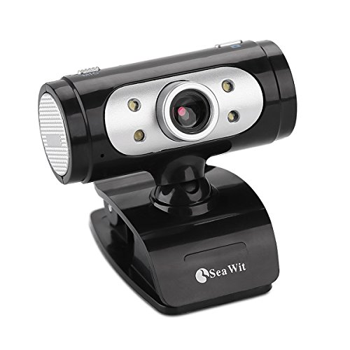 USB 2.0 Pro HD Webcam, 720P PC Web Camera with MIC Clip-on 360 Degree Video Calling and Recording for Computer Laptop Desktop