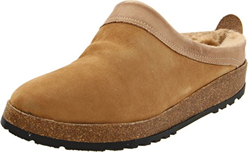 HAFLINGER Women's SC Snowbird Clogs/Slippers - Tan (38)