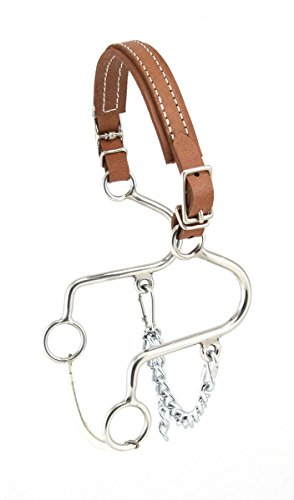 (Aime Imports Westen SS Leather Nose Little S Hackamore)