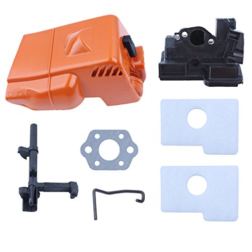 Haishine Top Engine Cover Air Filter Housing Switch Shaft Kit For STIHL MS 180 170 MS180 MS170 018 017 Chainsaw Spare Parts