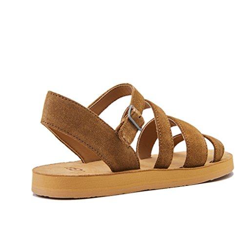 chestnut Brown Alyse Australia Ugg Chestnut Sandals Ankle Women''s Strap xWqaWw17T