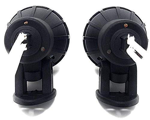 Moto Mini Proyectores Faros Antiniebla Luces de Conducci/ón para Aventura /& Touring Motos