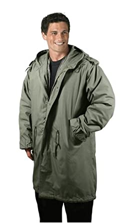 Amazon.com: ROTHCO M-51 FISHTAIL PARKA / OLIVE DRAB - Size: M ...