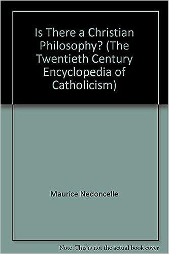 Mobi télécharge des livres Is There a Christian Philosophy? (The Twentieth Century Encyclopedia of Catholicism) en français RTF