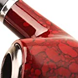 Scotte Captain Tobacco Pipe Red Smoking Pipe