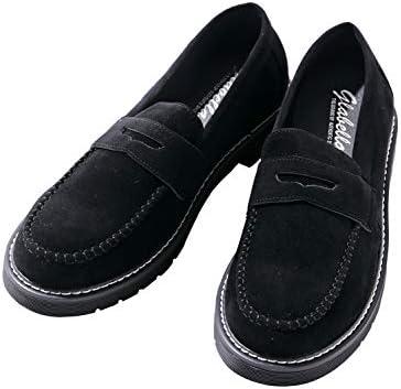 フェイクレザー コインローファー バブーシュ レザーシューズ 革靴 メンズ
